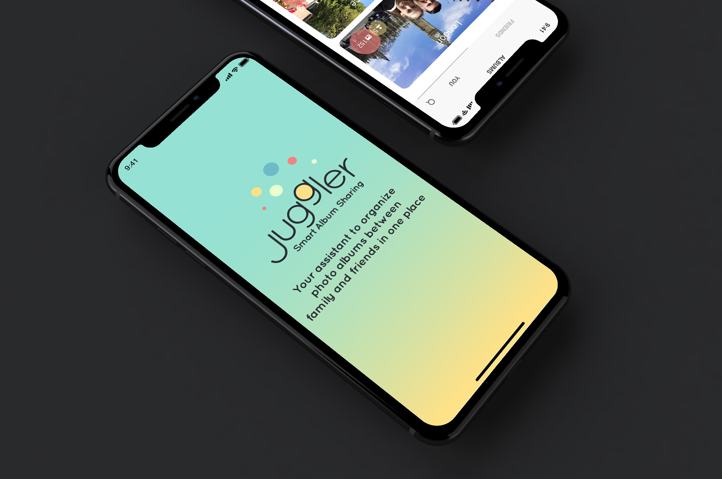 juggler - App Design