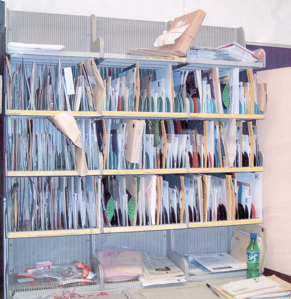 Royal Mail sorting frame