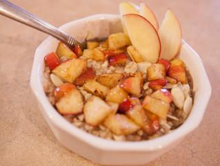 Apple Cinnamon Quinoa Oatmeal