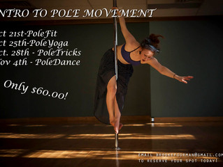 NEW Intro to Pole Movement Workshop!