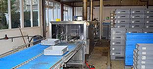 Behälterreinigung, Kistenreinigung, KLT Reinigung