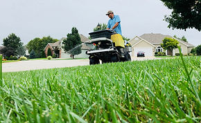 Broadcast Fertilization and Weed control