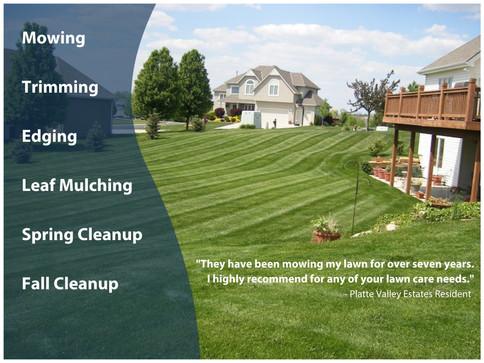 Lawn Maintenance Details