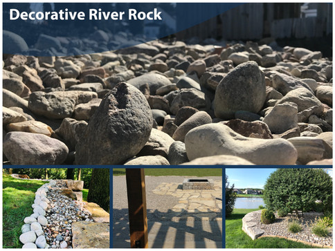 Decorative River Rock