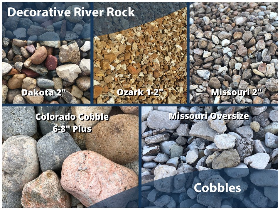 Decorative Rock and Cobbles