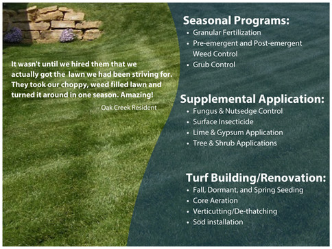 Turf Management Details