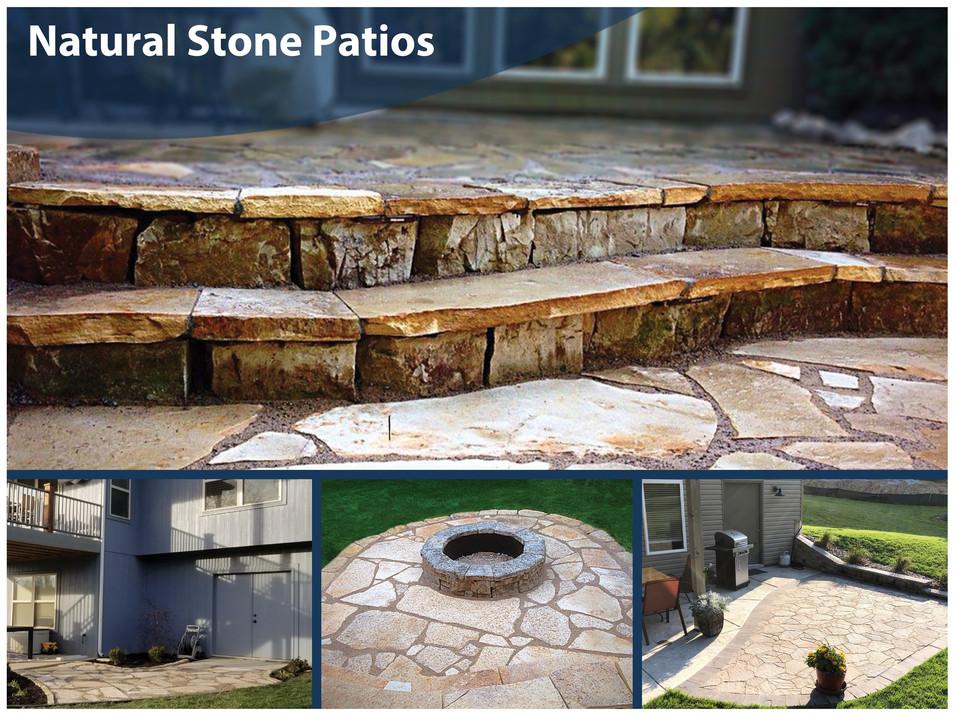 Natural Stone Patios