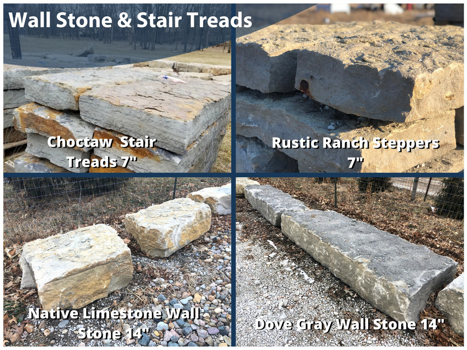 Wall Stone and Stair Treads