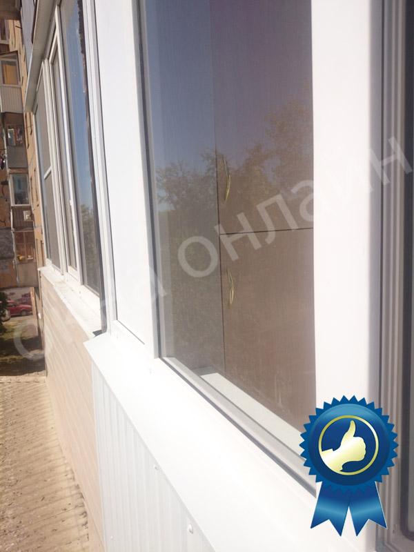 Обшивка балкона в уфе 16.3