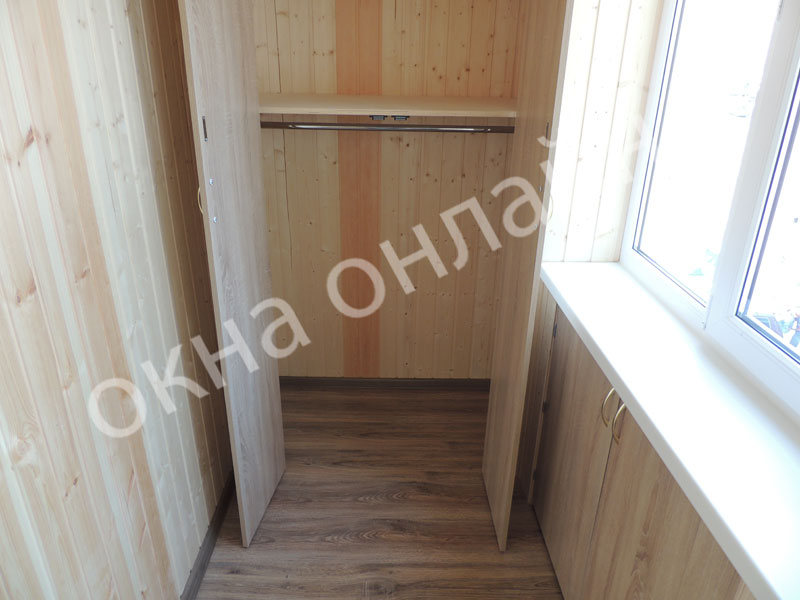Обшивка-лоджии-евровагонкой-57.5