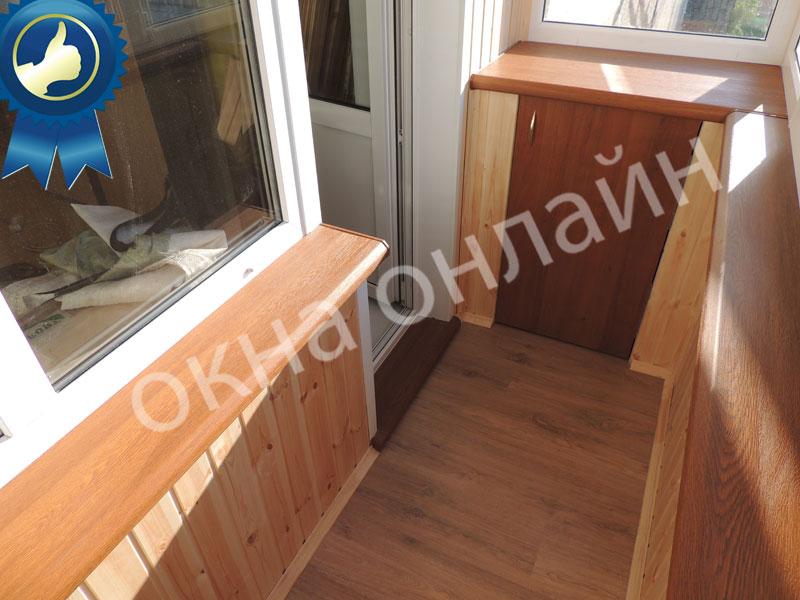 Обшивка-балкона-евровагонкой-43.3