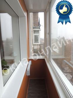 32.1 Обшивка балкона МДФ панелью