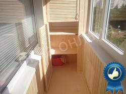Обшивка балкона в уфе 13.10
