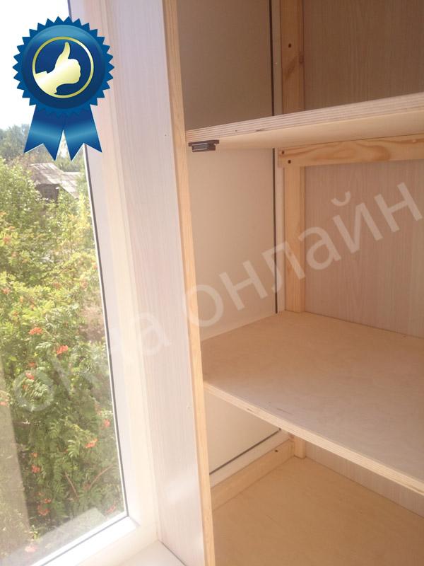 Обшивка балкона в уфе 16.9