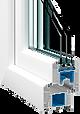 Остекление балкона Vektor