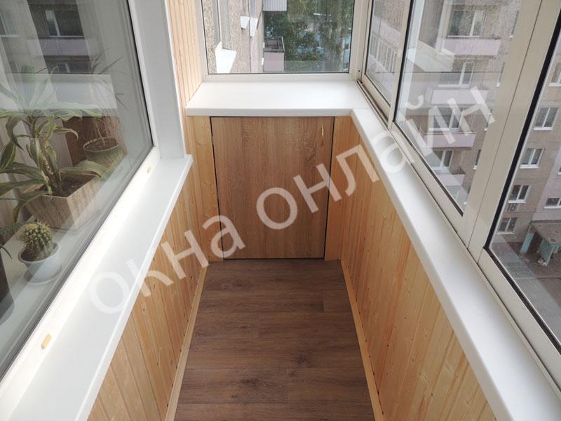 Обшивка-балкона-евровагонкой-53.1