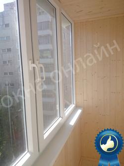 Обшивка балкона в уфе 13.20