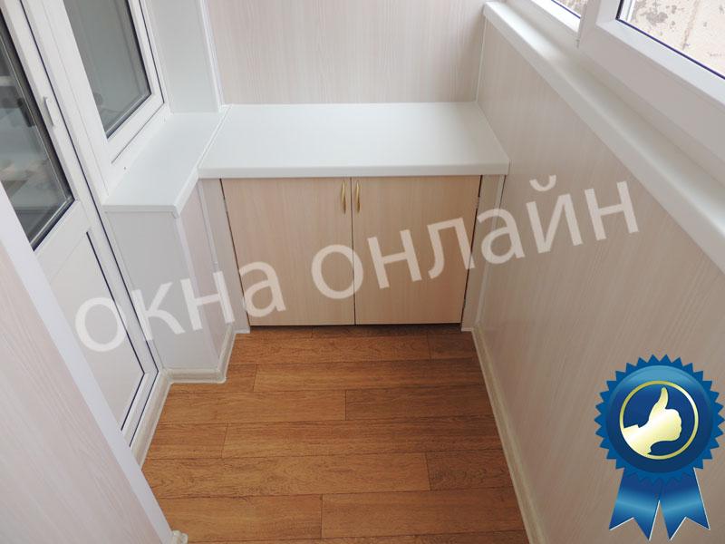 Обшивка-лоджии-ПВХ-панелью-35.5