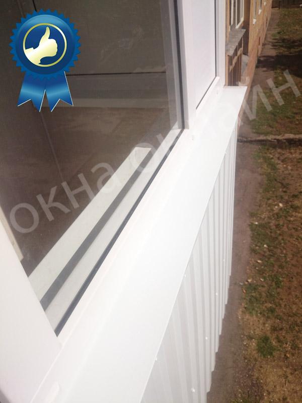 Обшивка балкона в уфе 16.2