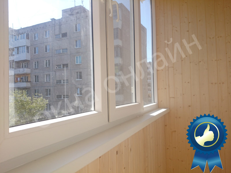 Обшивка балкона в уфе 13.19