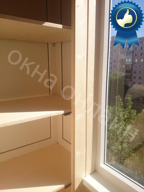 Обшивка балкона в уфе 13.14