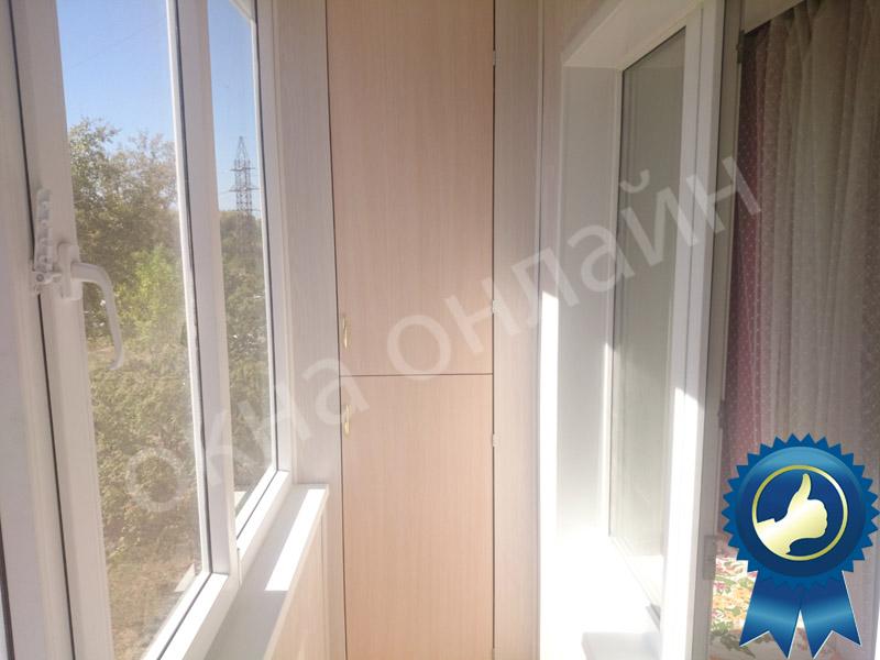 Обшивка балкона в уфе 16.5