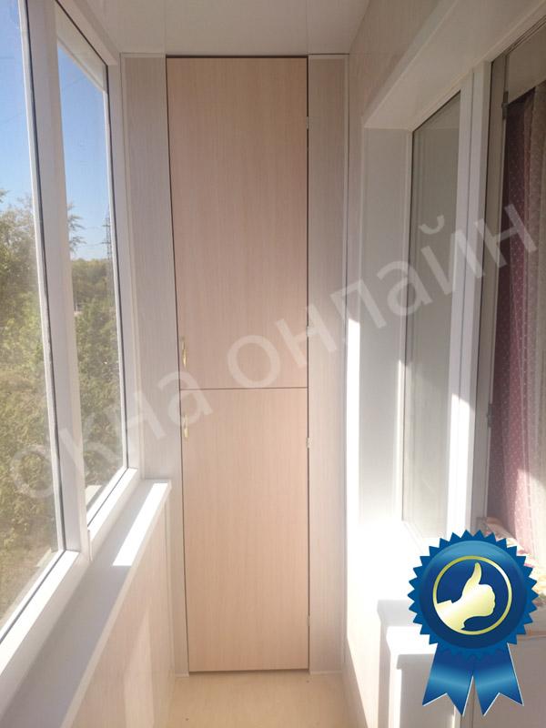 Обшивка балкона в уфе 16.4