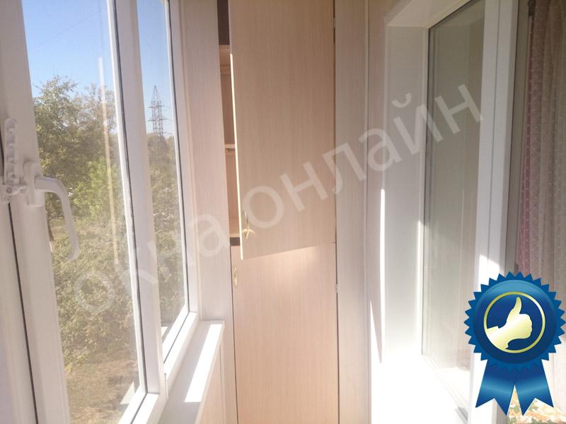 Обшивка балкона в уфе 16.6