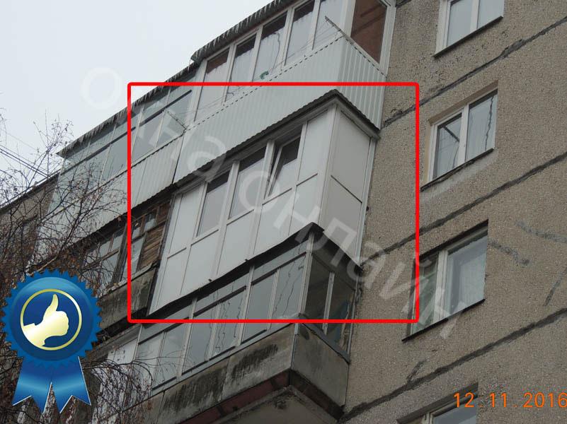Обшивка-лоджии-ПВХ-панелью-26.1