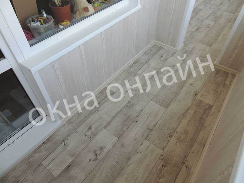 Обшивка-лоджии-МДФ-панелью-84.8