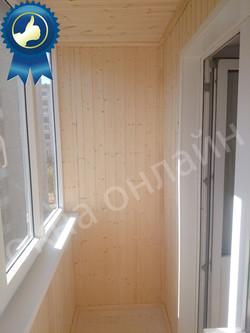 Обшивка балкона в уфе 13.16