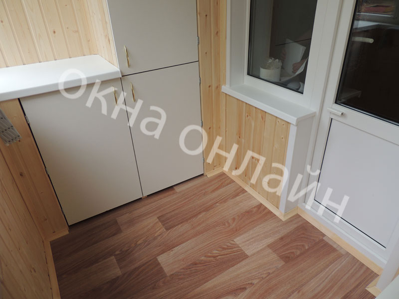 Обшивка-лоджии-евровагонкой-63.5