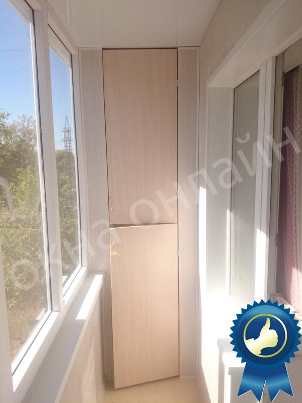 Обшивка балкона в уфе 16.7