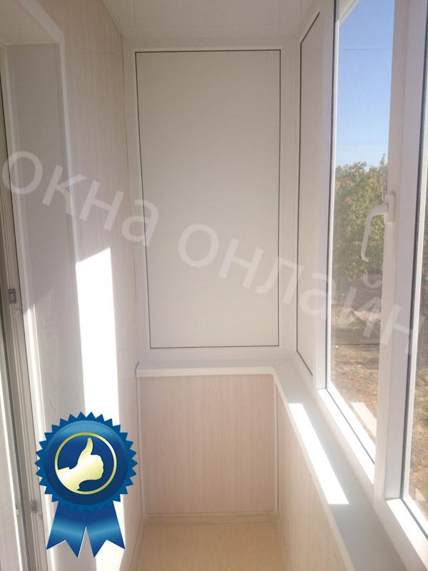 Обшивка балкона в уфе 16.10
