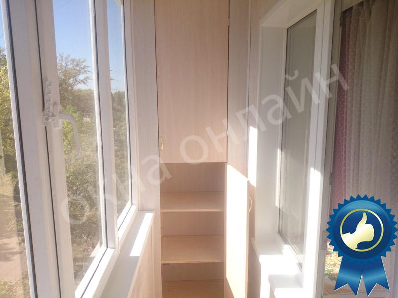 Обшивка балкона в уфе 16.8