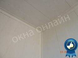 Обшивка балкона МДФ панелью 15.5