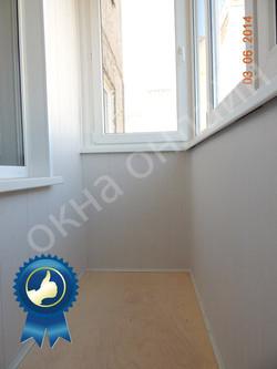 Обшивка балкона МДФ панелью 15.2