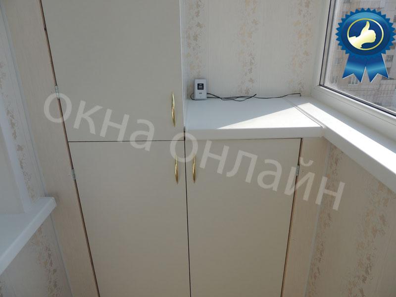 Обшивка-лоджии-ПВХ-панелью-31.5