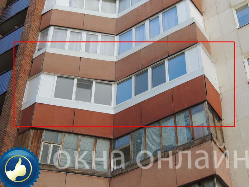 Обшивка-балкона-ПВХ-панелью-44
