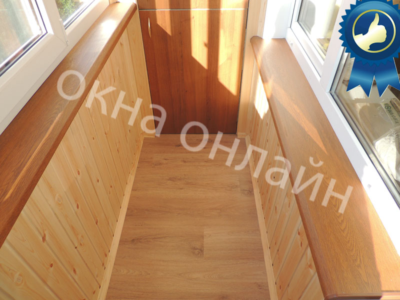 Обшивка-балкона-евровагонкой-43.9
