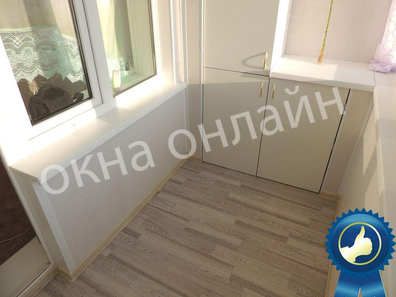Обшивка-ладжии-МДФ-панелью-47.4