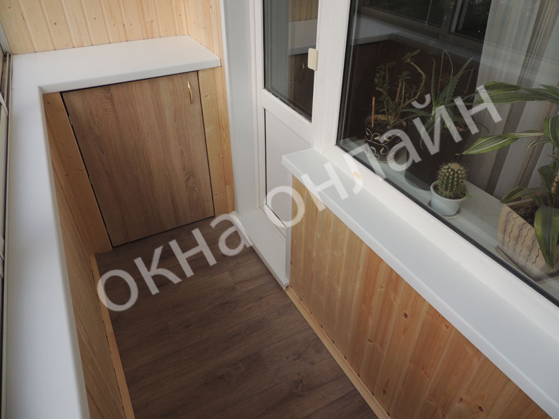 Обшивка-балкона-евровагонкой-53.6