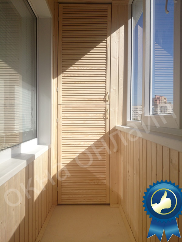 Обшивка балкона в уфе 13.6