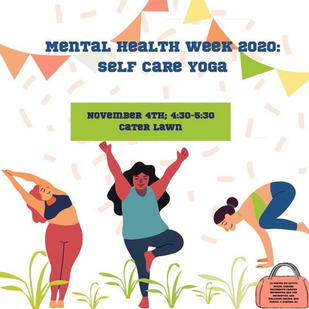 Mental Health Week Yoga