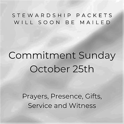 Stewardship Packets will soon arrive (1)