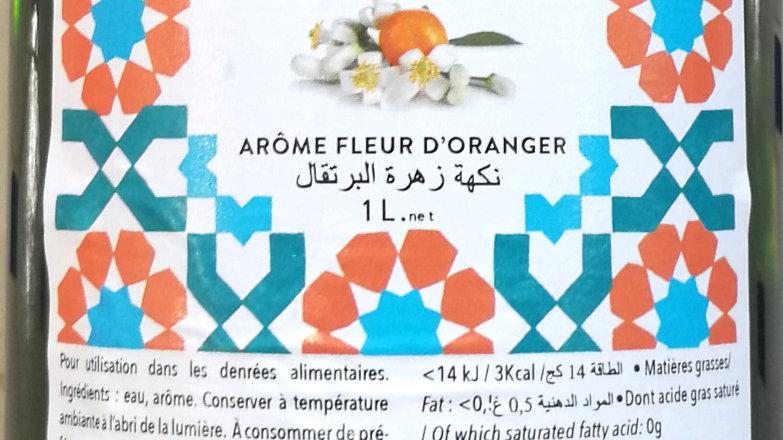 Arôme fleur d'oranger 1L Faïza
