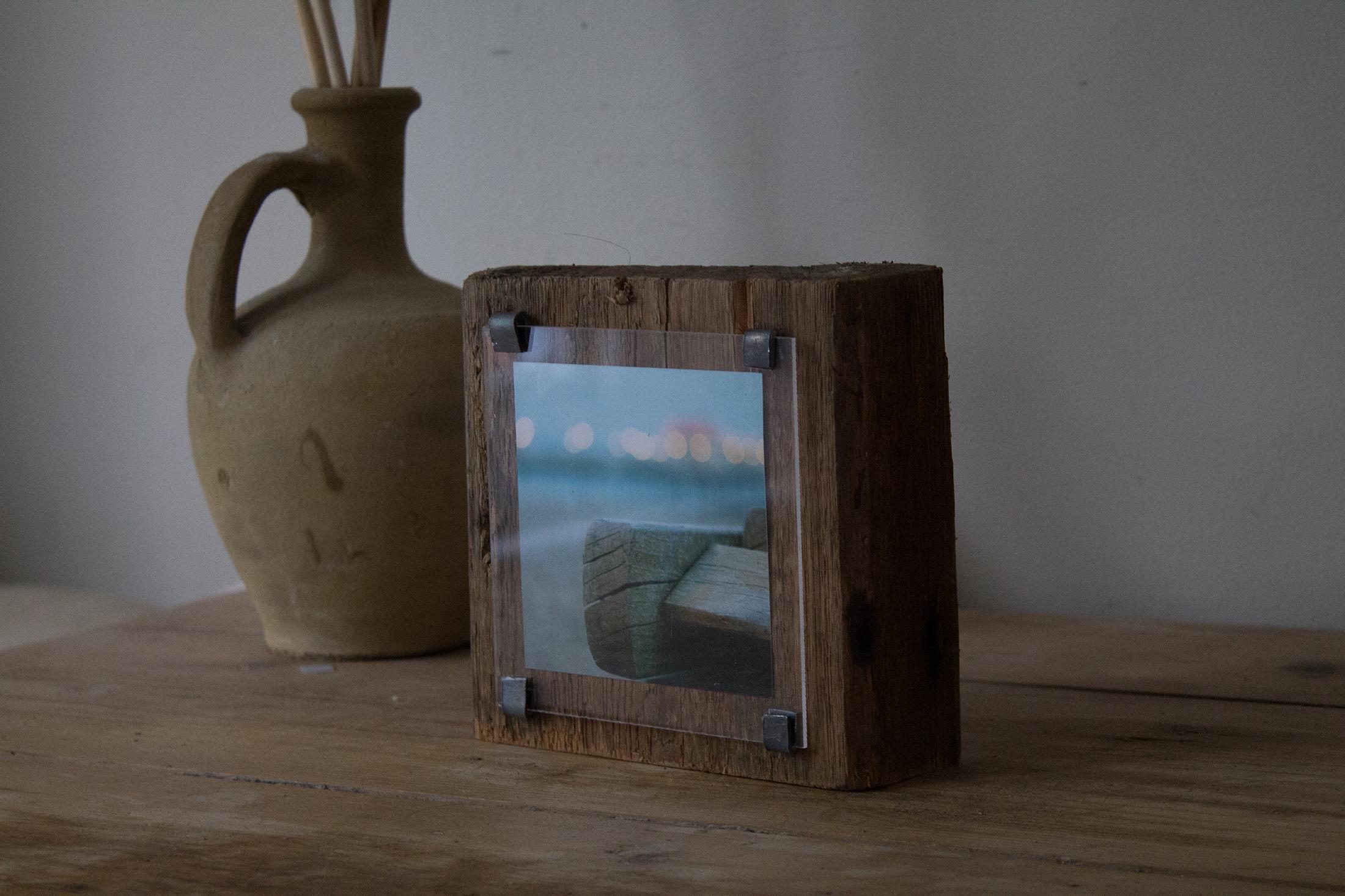 Sea groyne photo block