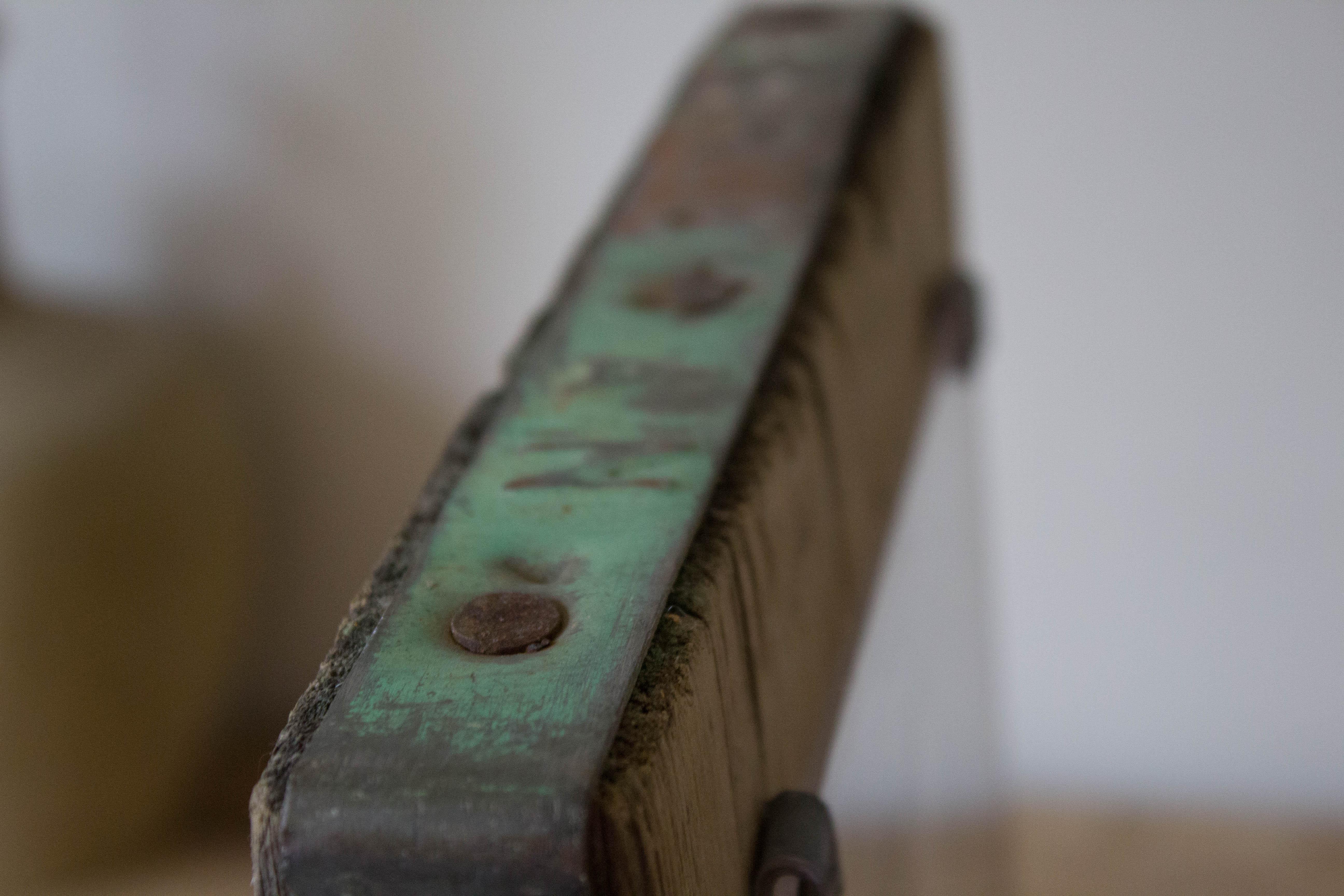 Beautiful metal patina