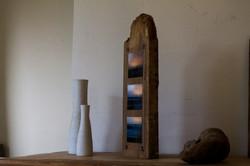 Scultural Driftwood photo block