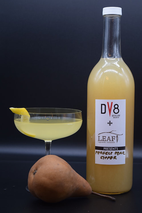 DV8//LEAF - Perfect Pear Sipper - DV8 Vodka, Pear Juice and spiced simple syrup